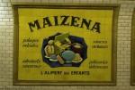 Maizena, o reclamă delicioasă într-una din stațiile de metrou abandonate din Paris