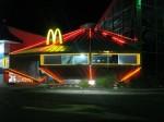 McDonalds-ul din oraș respectă tematica UFO omniprezentă în Roswell