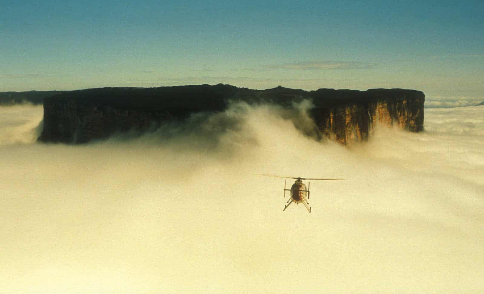 O plimbare cu elicopterul peste Muntele Roraima