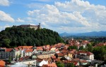 Panoramă din Ljubljana