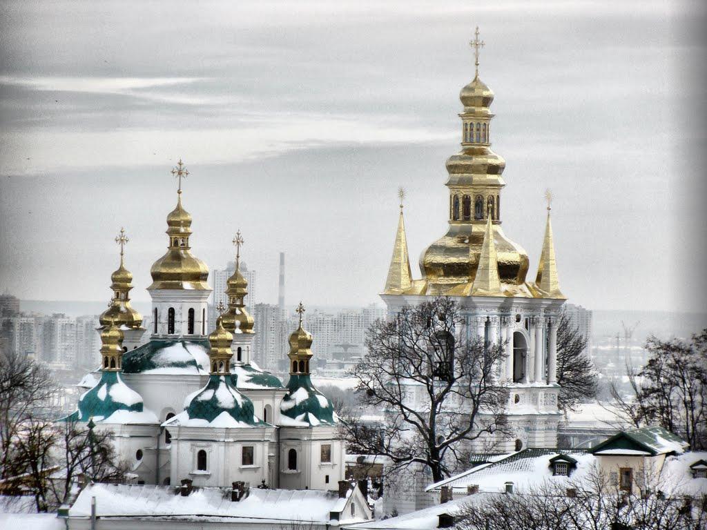 Pechersk Lavra, o mănăstire spendidă în Kiev