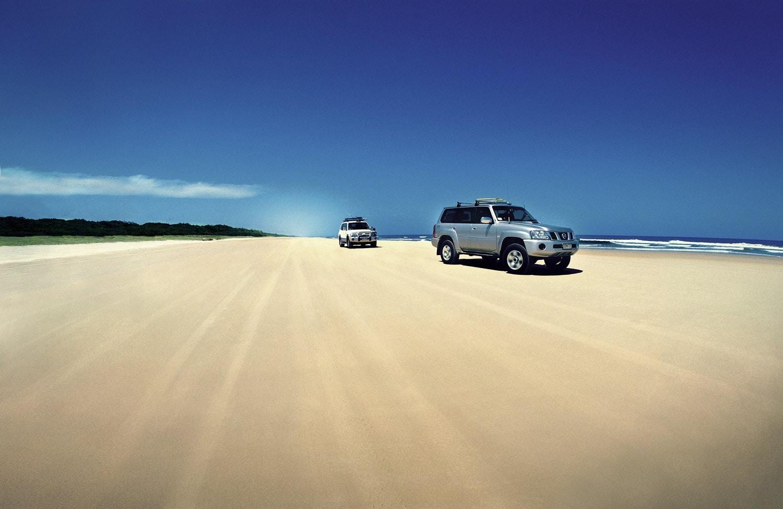 Poți face un tur complet al Insulei Fraser cu o astfel de mașină