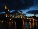 Podul de Fier, noaptea