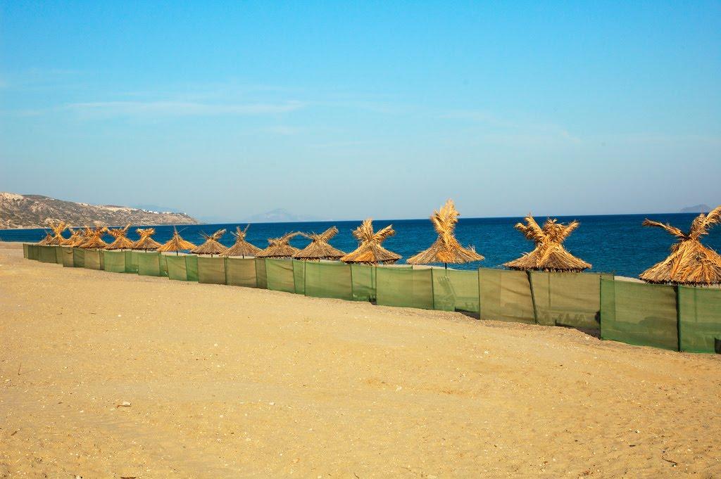 Plaja Polemi - O plajă cu aspect exotic din Kos