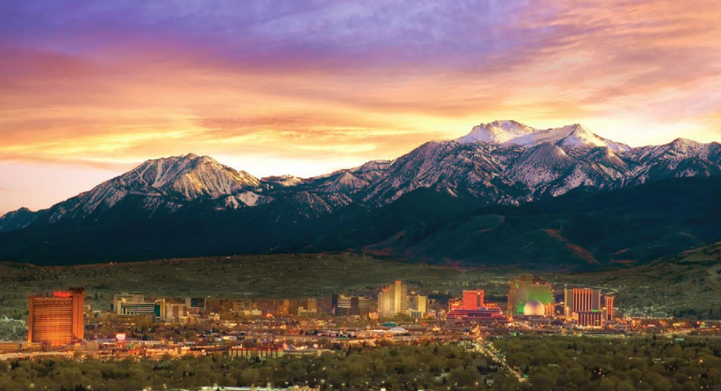 Reno, Nevada, un orășel frumos