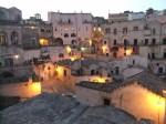 Sassi di Matera, seara