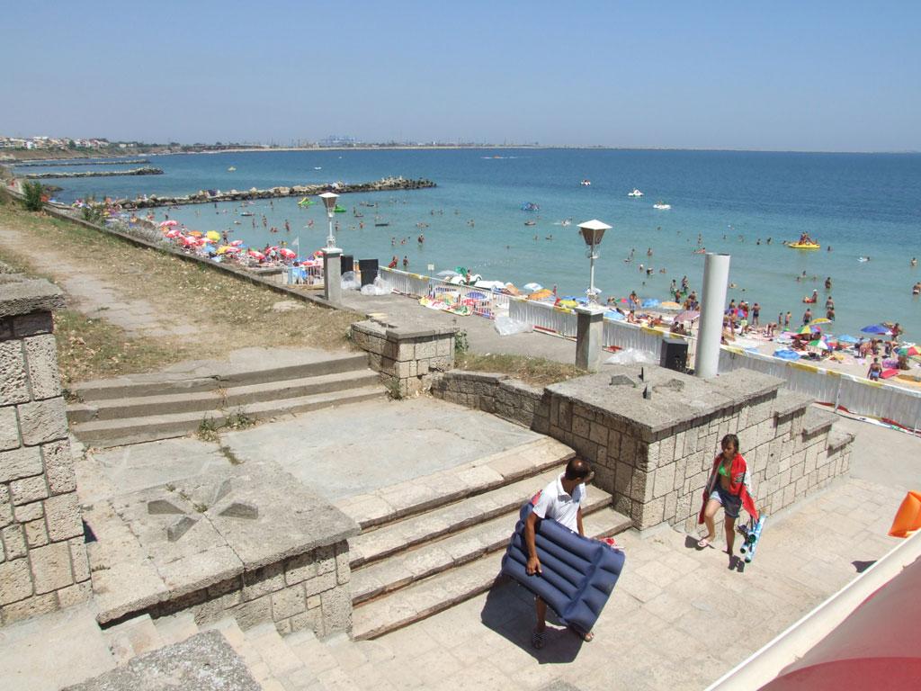 Vara Eforie Nord e o stațiune aglomerată