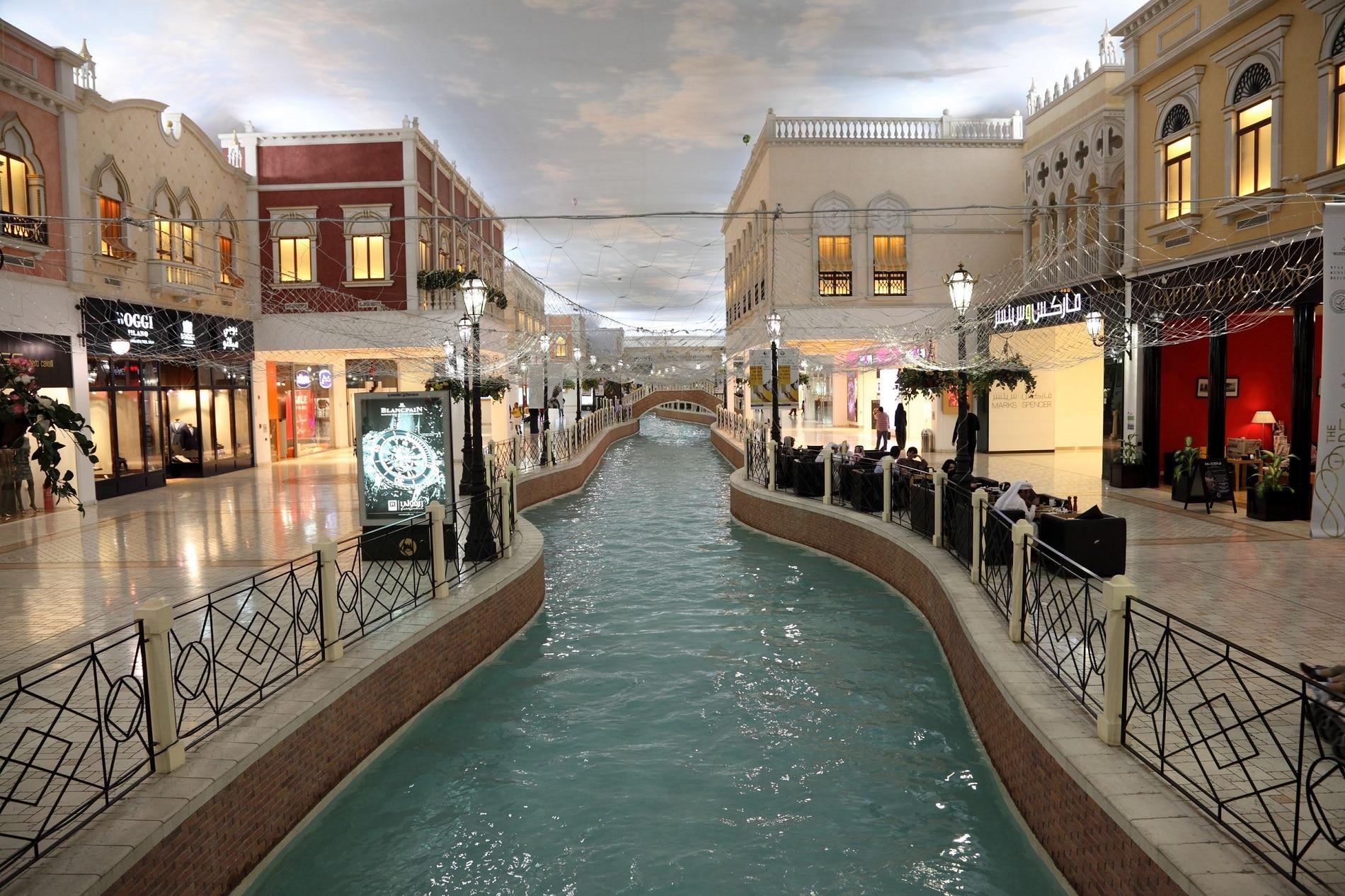 Așa arată Villaggio Mall din Doha