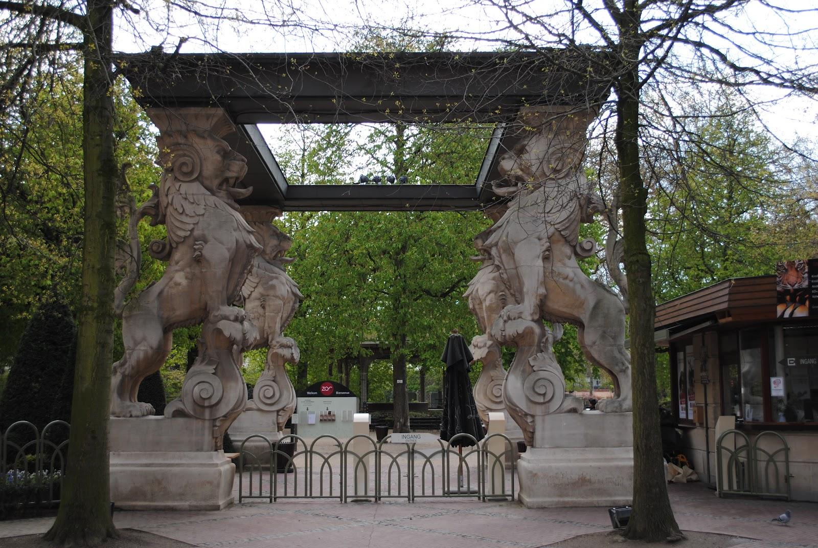 Intrarea în Grădina Zoologică Antwerp