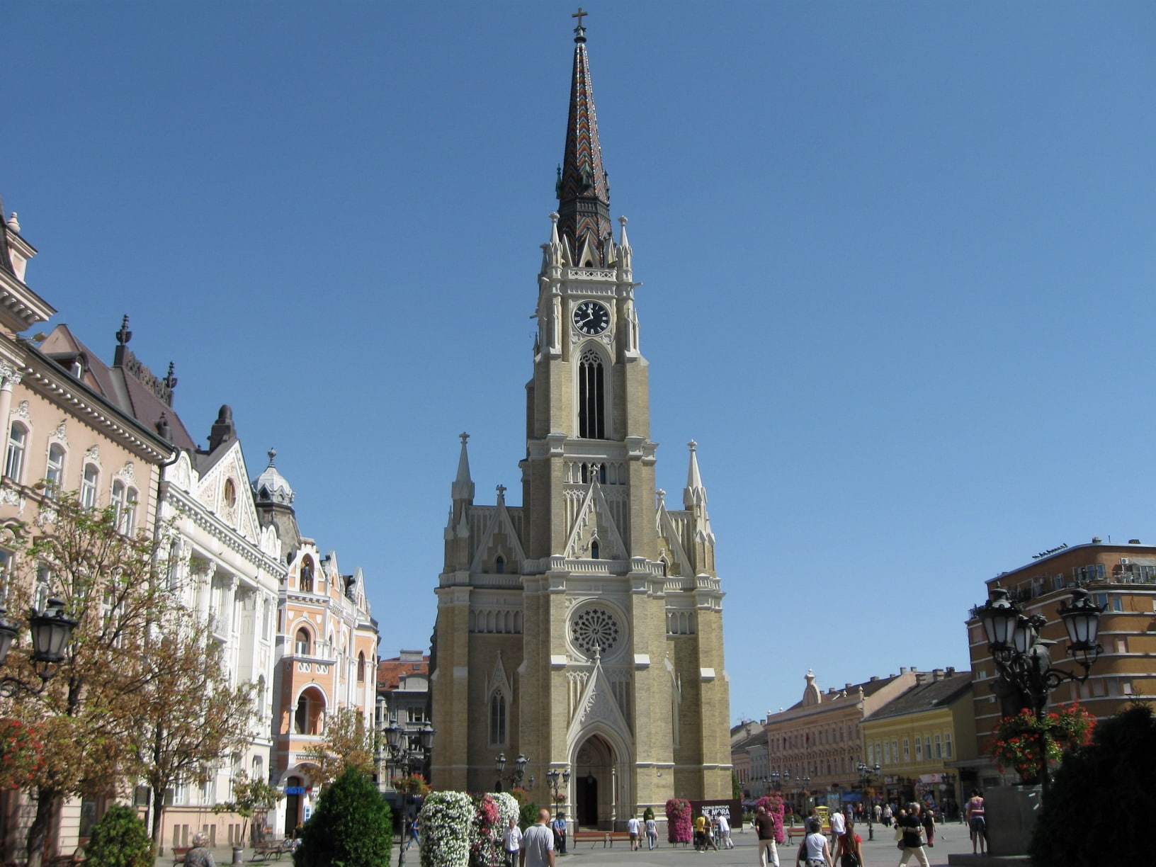 Catedrala Romano – Catolică Crkva imena Marijinog din Novi Sad, Serbia