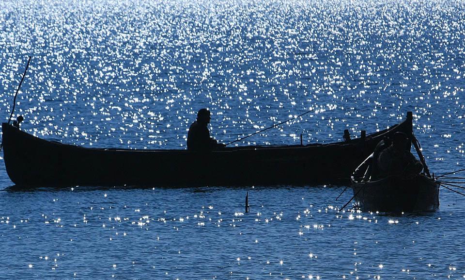 Pescuit pe timp de seară