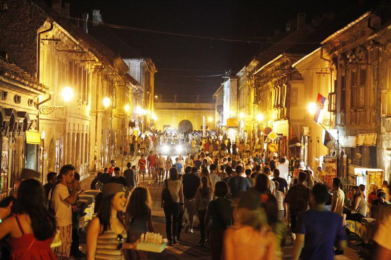 Viața de noapte în Novi Sad, Serbia