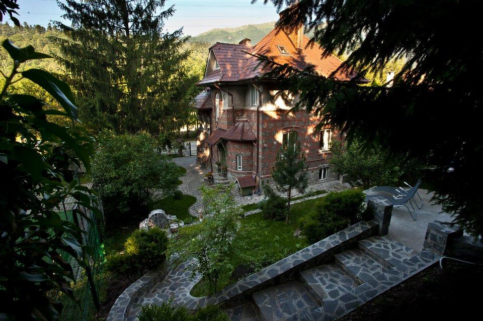 Vila Poem Boem - Unul din frumoasele conace de lux din Sinaia
