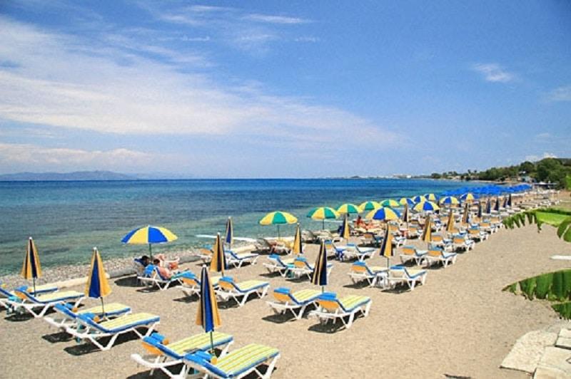 Plajele din Kos sunt printre cele mai frumoase din Grecia