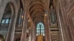 În interiorul Catedralei Liverpool