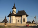 Biserica nouă construită din donațiile credincioșilor