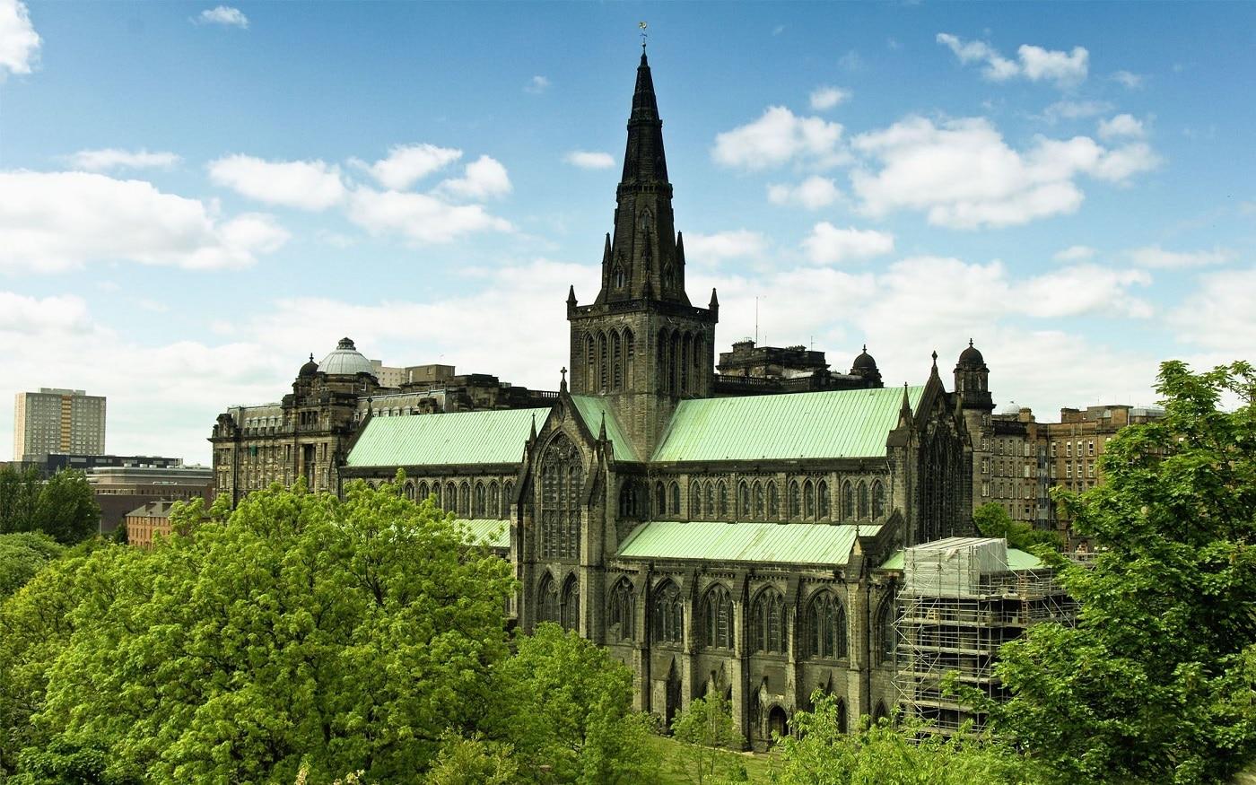 Catedrala din Glasgow a devenit deja un simbol al metropolei