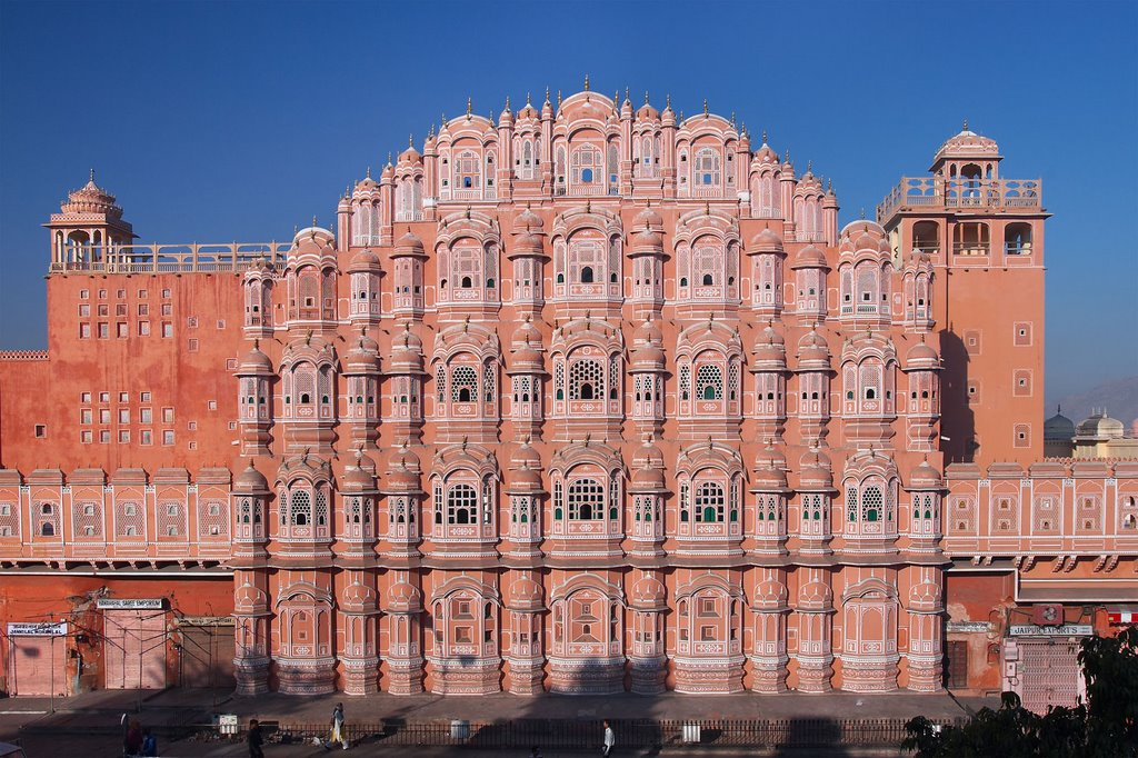 Hawa Mahal, simbol indian