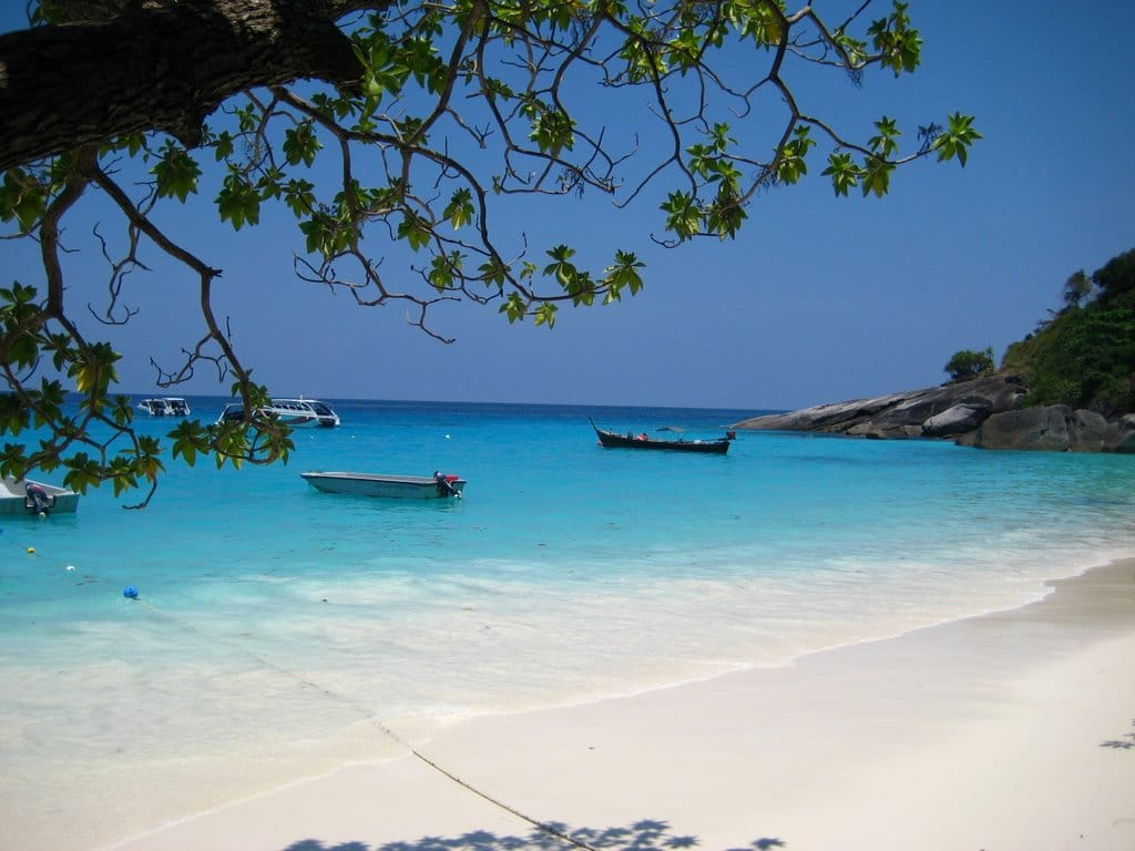 Insulele Similan, Thailanda