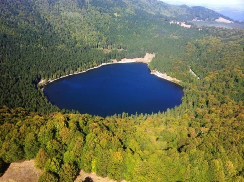 Lacul Sfânta Ana, o splendoare!