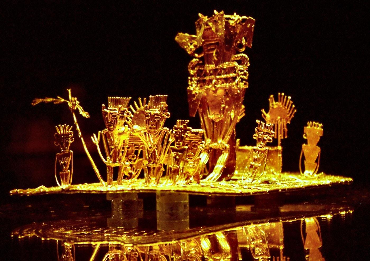 Muzeul Aurului este locul unde sunt expuse fel de fel de obiecte interesante, din aur