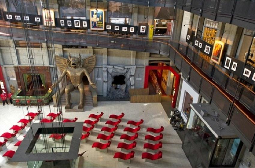 În interiorul Muzeului de Cinema