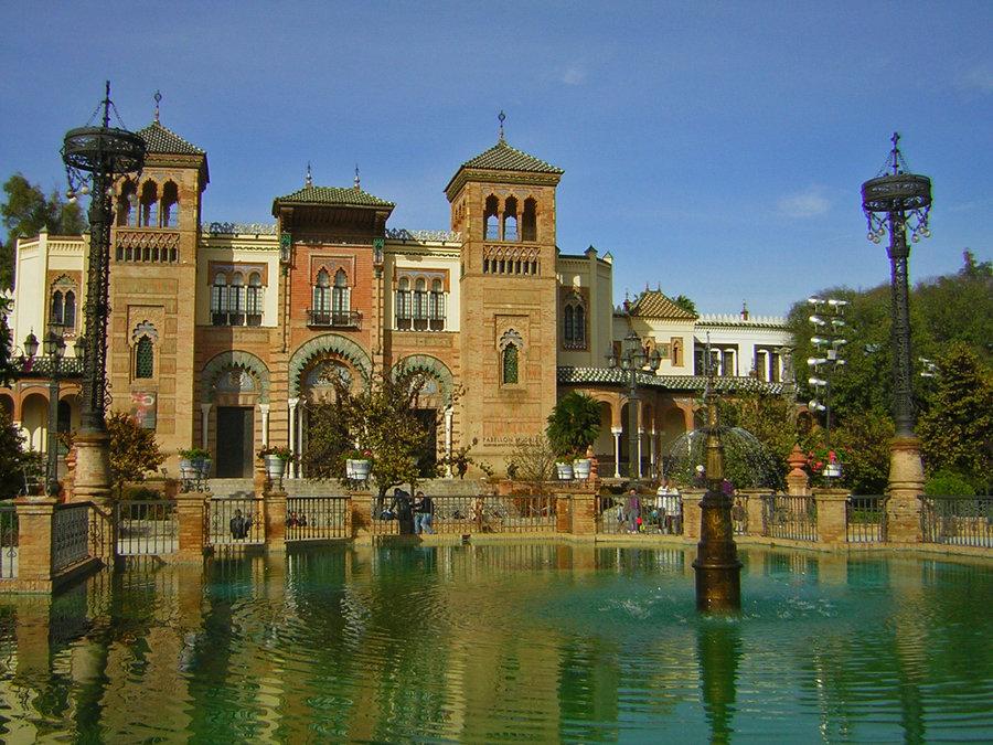 Parcul Maria Luisa, un spectacol arhitectural