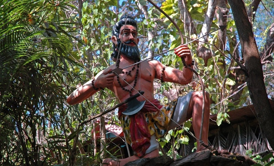 Zeul Parshurama - creatorul legendar al statului Goa