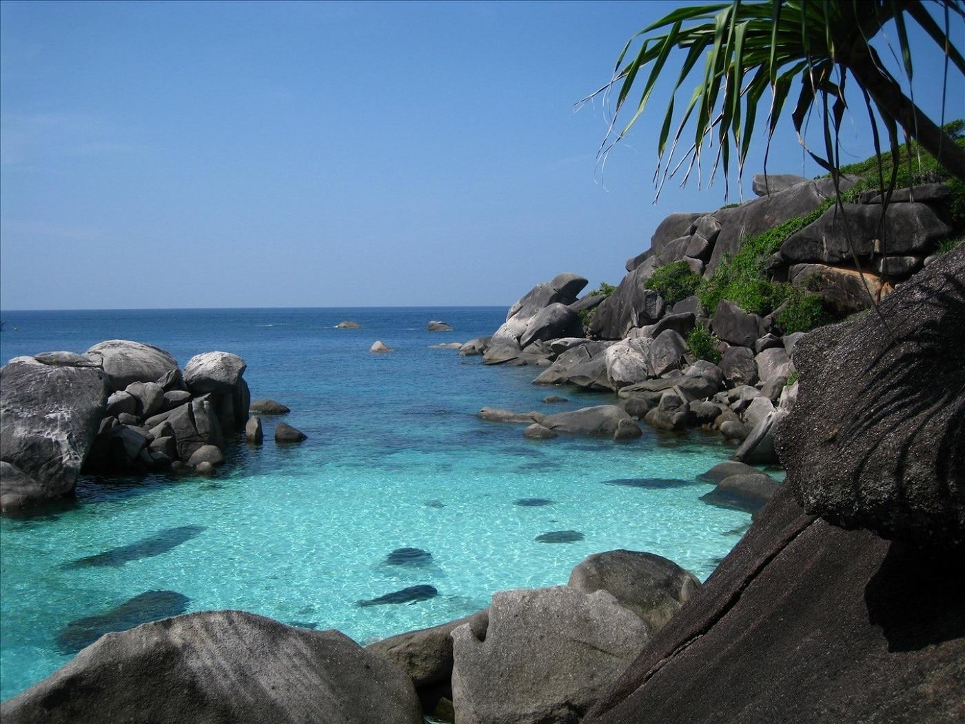 Similan, insulele de granit