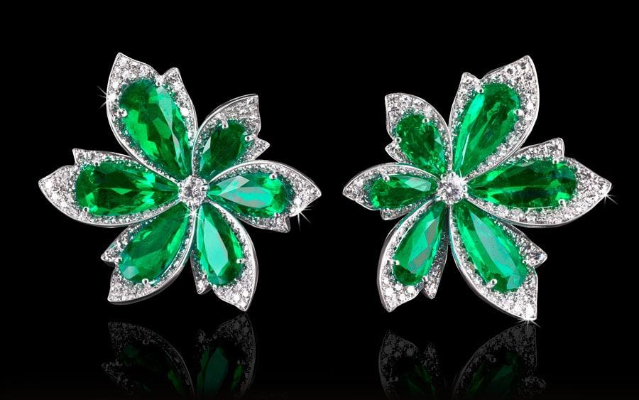 Smaraldul, piatră prețioasă din care sunt fabricate fel de fel de bijuterii