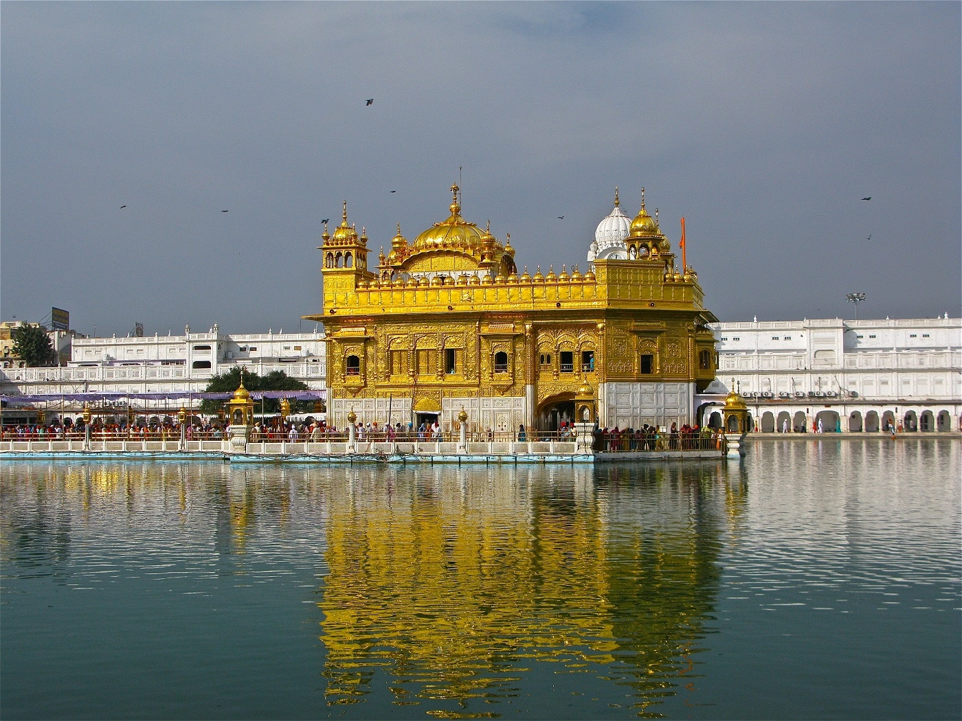 Templul Harmandir Sahib, India