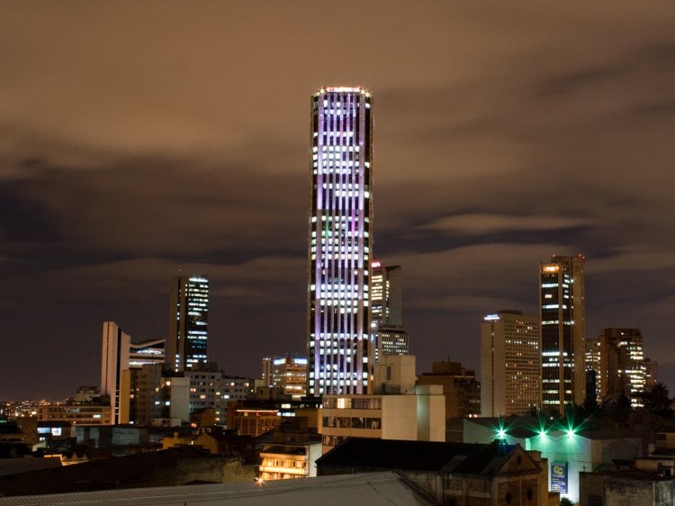 Turnul Colpatria, cel mai înalt edificiu din Bogota