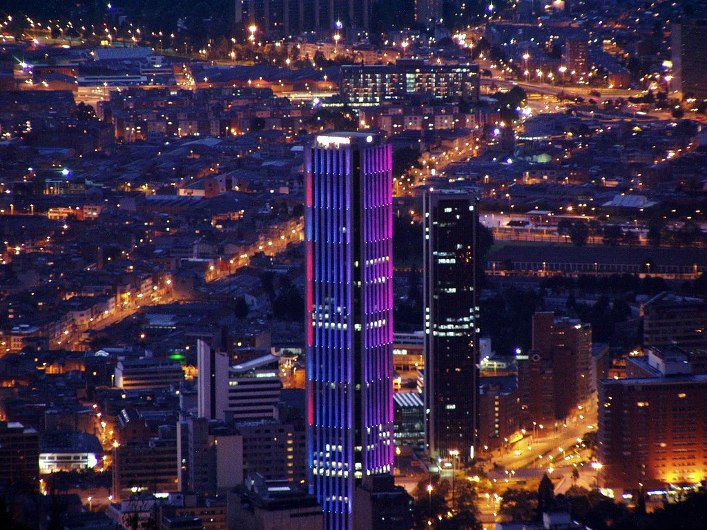 Turnul Colpatria, un edificiu unic
