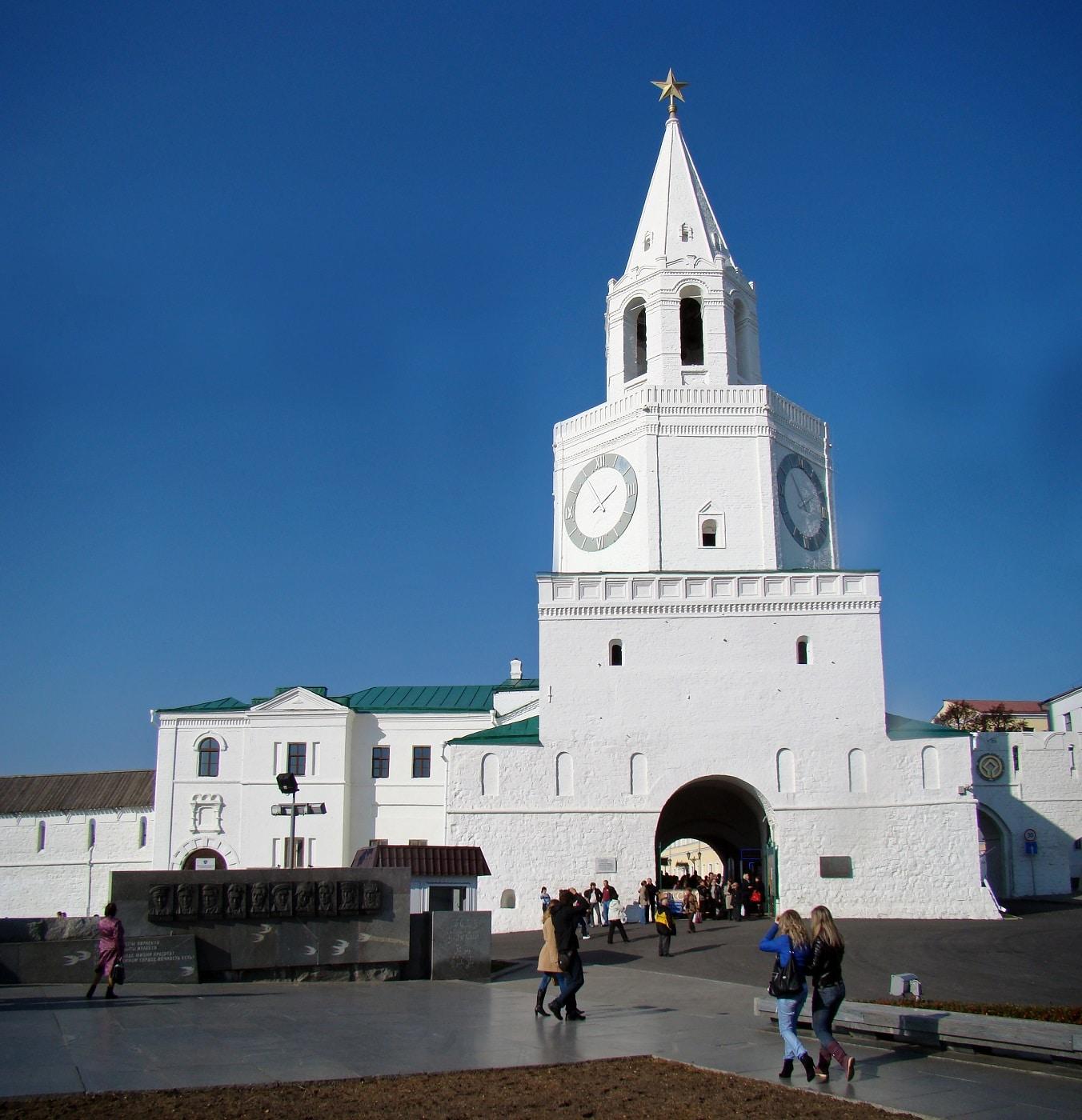 Turnul Spasskaya, Kremlin