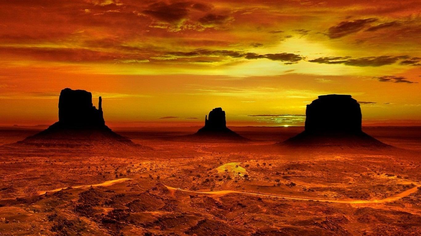 Valea Monumentelor, America de Vest