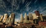 Cea mai mare parte a clădirilor din Toronto sunt moderne