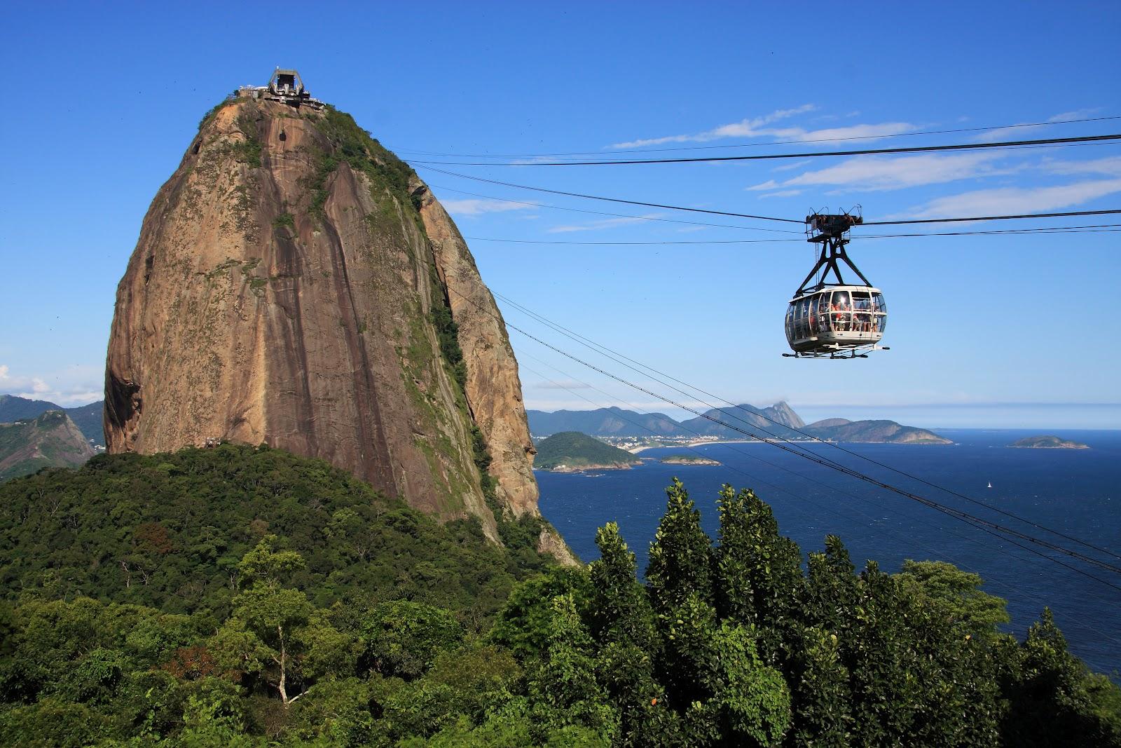 Muntele Pâine de Zahăr, Rio de Janeiro