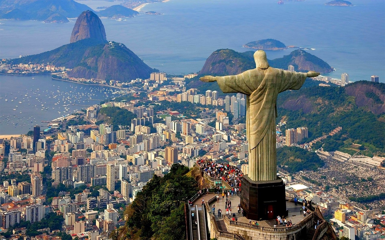 Muntele văzut dinspre Statuia Cristo Redentor