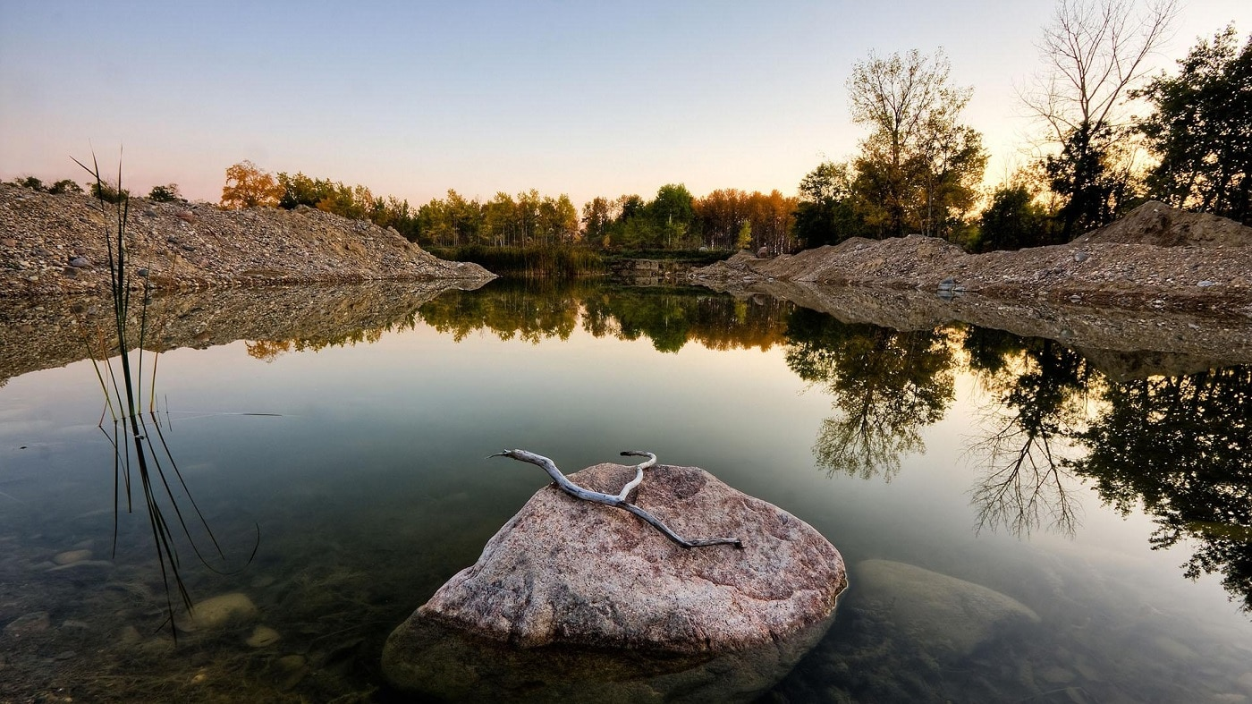 Peisajele de vis crează acea liniște de care vizitatorii au nevoie