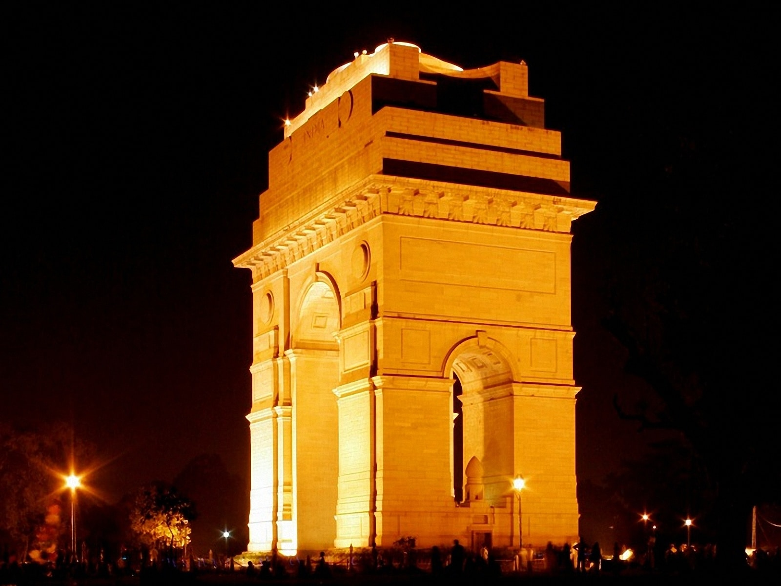 Poarta Indiei, din lateral