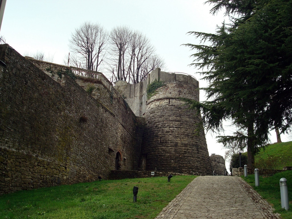Rocca din Bergamo, cetatea medievală a orașului