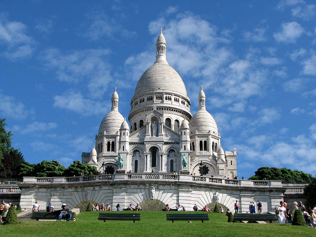 Bazilica Sacre Coeur, Paris