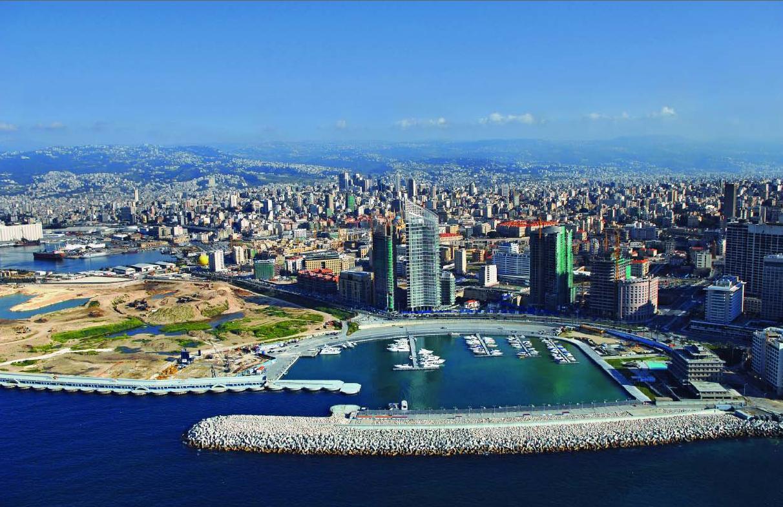 Mare parte dintre clădirie din Beirut au fost construite recent