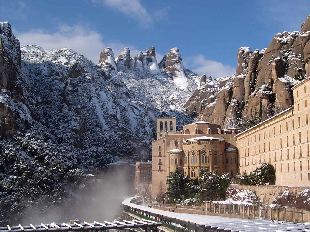 Montserrat, iarna
