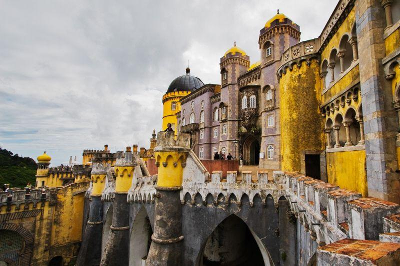 Palatul are o ahitectura unică
