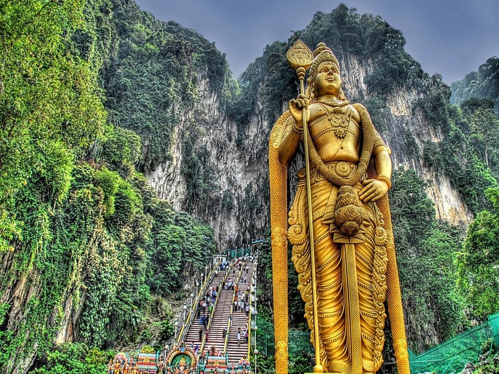 Peșterile Batu, Malaezia