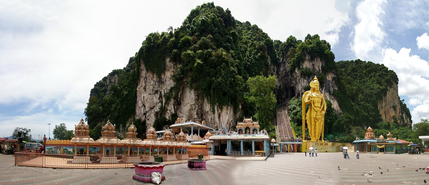 Peșterile Batu, un loc uimitor