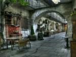 Printre zidurile evreiești a fost înființată și această cafenea