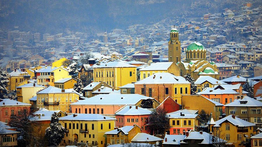 Veliko Tarnovo, iarna