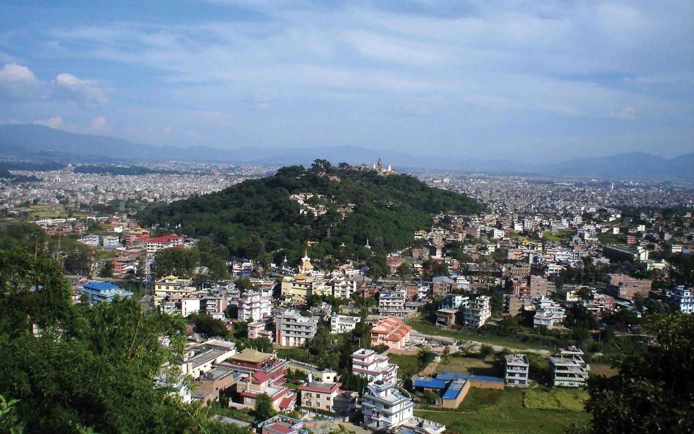 Kathmandu, vedere aeriană